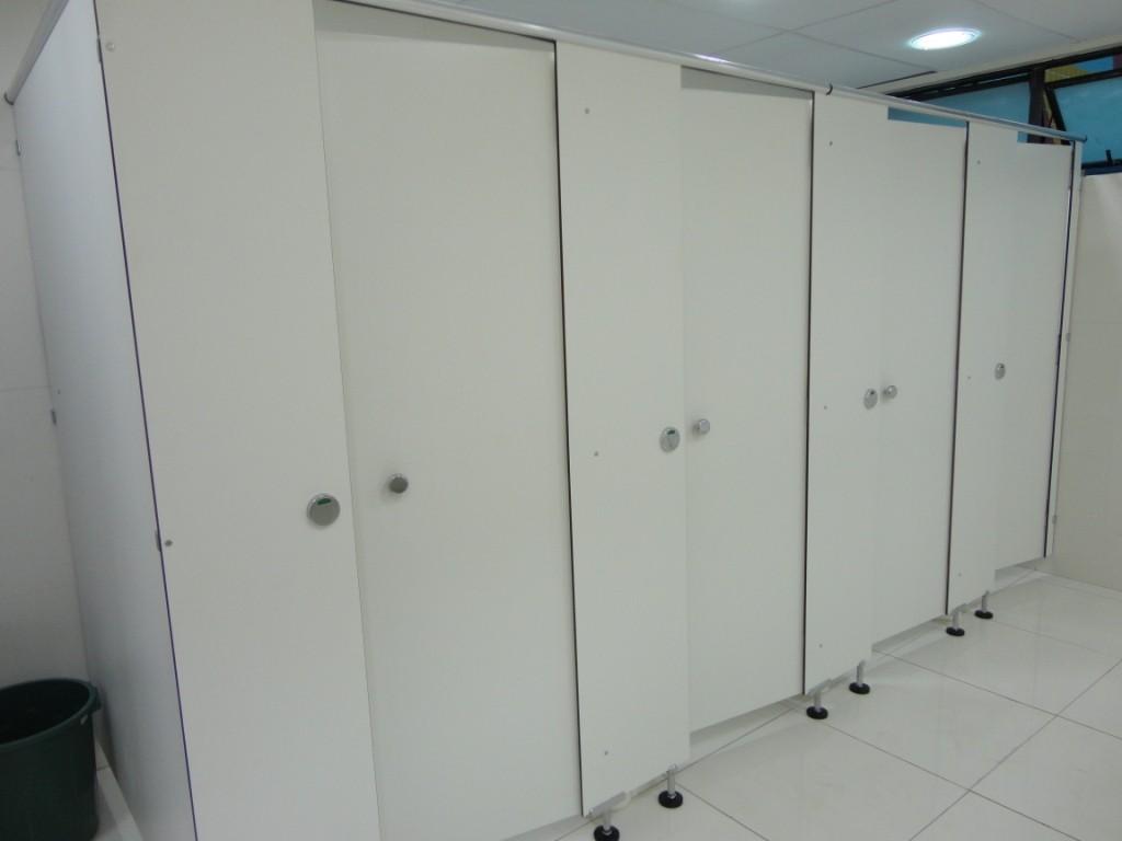 Divisórias Sanitárias no Brás - Divisórias Sanitárias