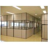 Divisórias de eucatex para escritório na Vila Mafra