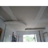 instalação de forro de gesso para garagem na Vila Esperança