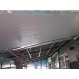 instalação de forro de pvc horizontal na Chora Menino