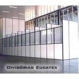 Preço Divisória Eucatex